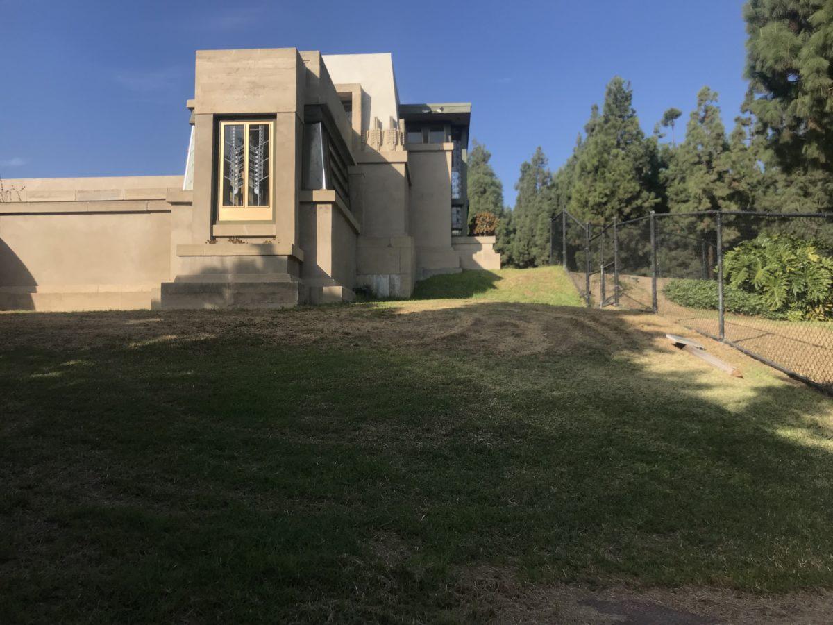 Bernsdall Art Park, Frank Lloyd Wright