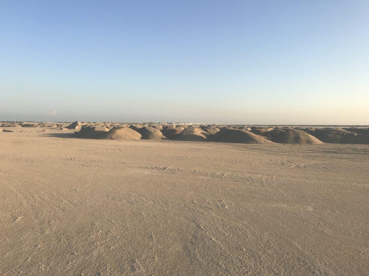 All the sand of Saadiyat