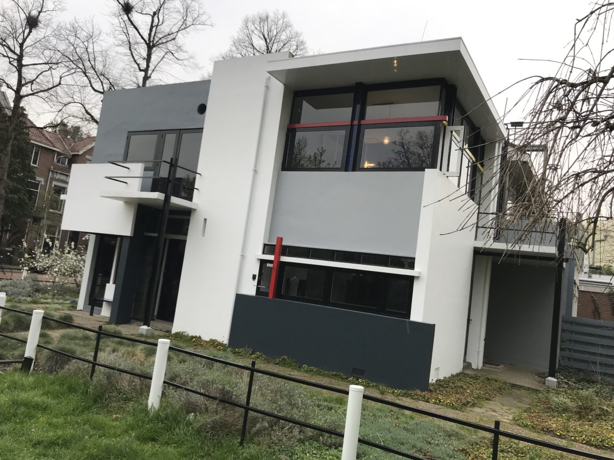 Rietvelt-Schröder House, Utrecht
