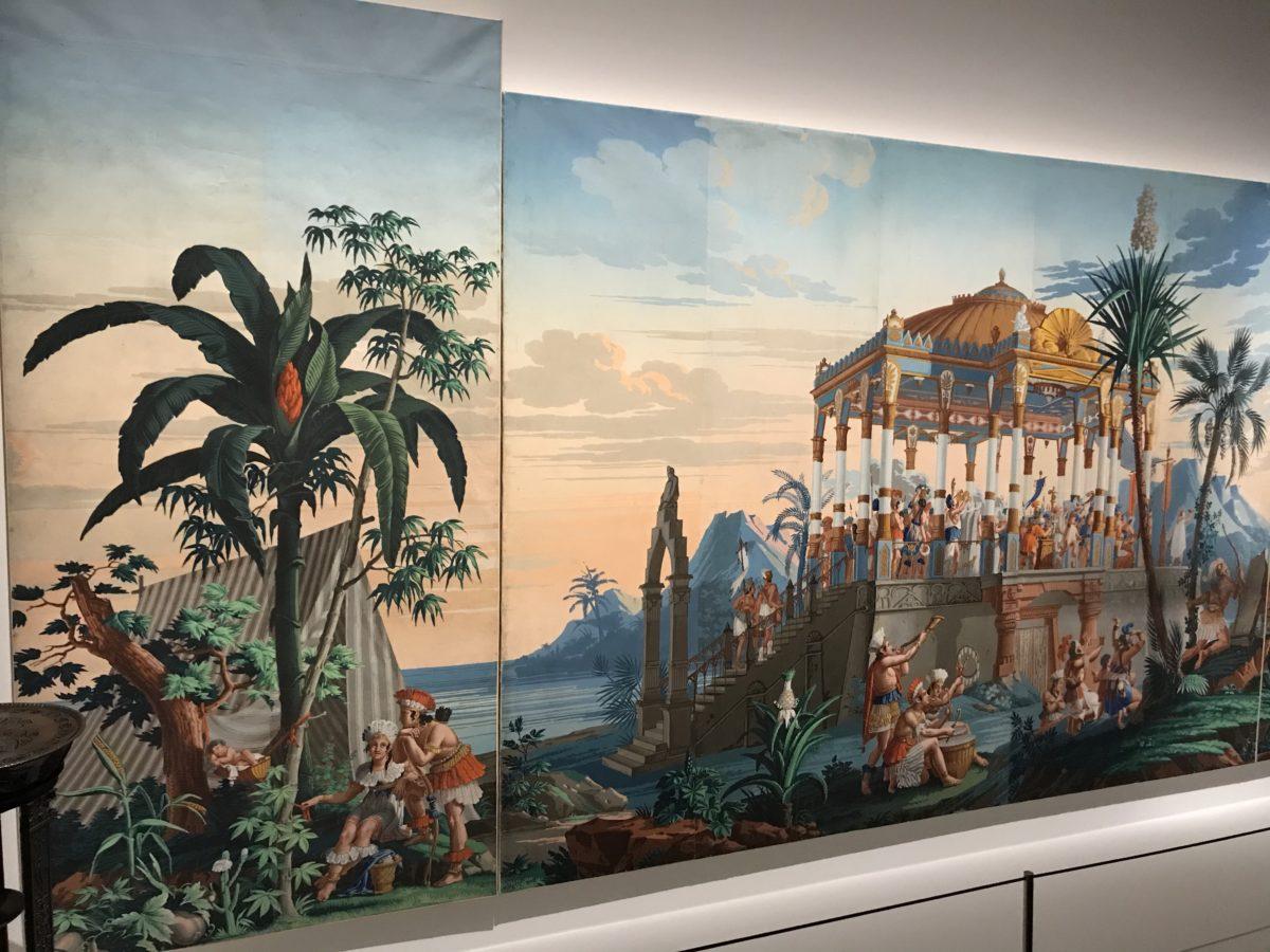 Panoramic Wallpaper Les Incas
